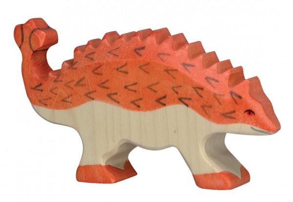 Ankylosaurus Dino Holzfigur Holzspielzeug von Holztiger