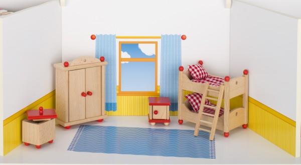 Puppenmöbel Kinderzimmer goki klassik Puppenstube