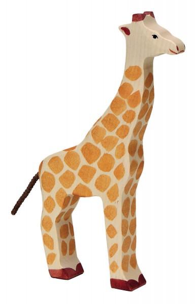 Giraffe Safari Holzfigur Holzspielzeug von Holztiger
